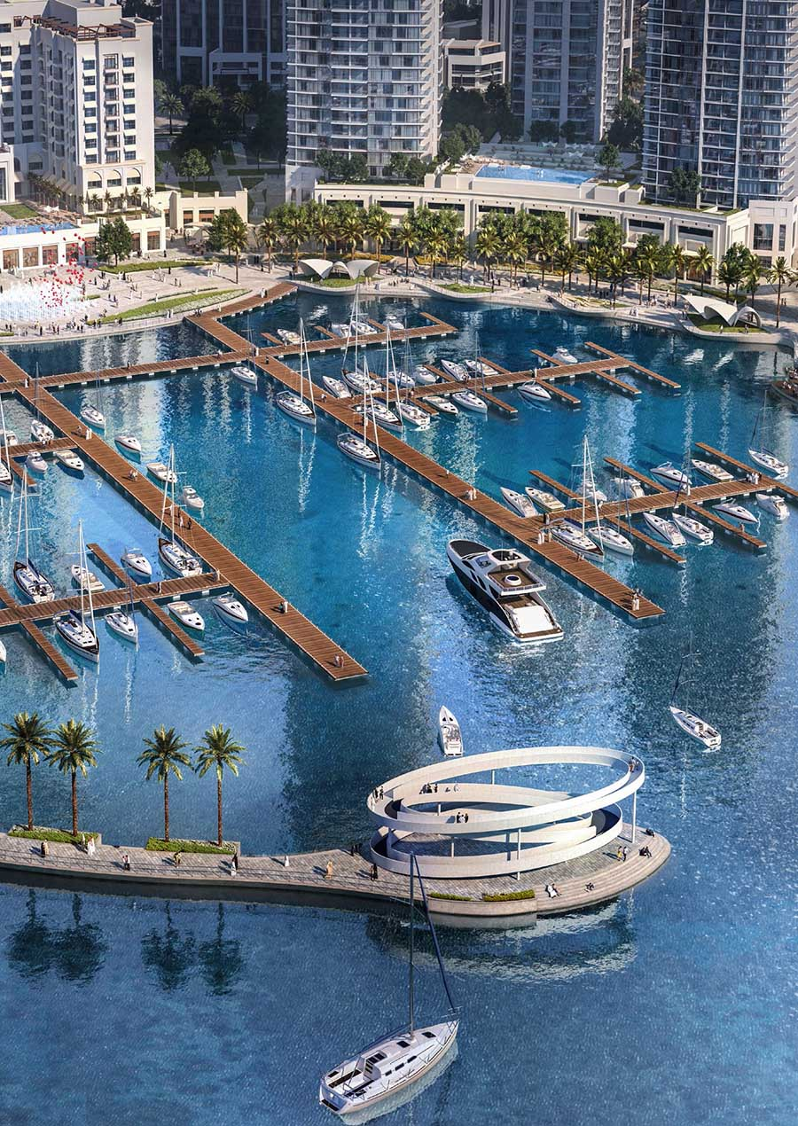 Sunset in Dubai Creek Harbour by Emaar, Dubai – Off-Plan Apartments