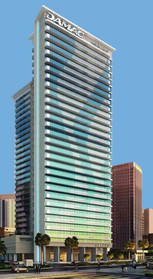 DAMAC Merano Tower in Business Bay, Dubai – Apartments for Sale