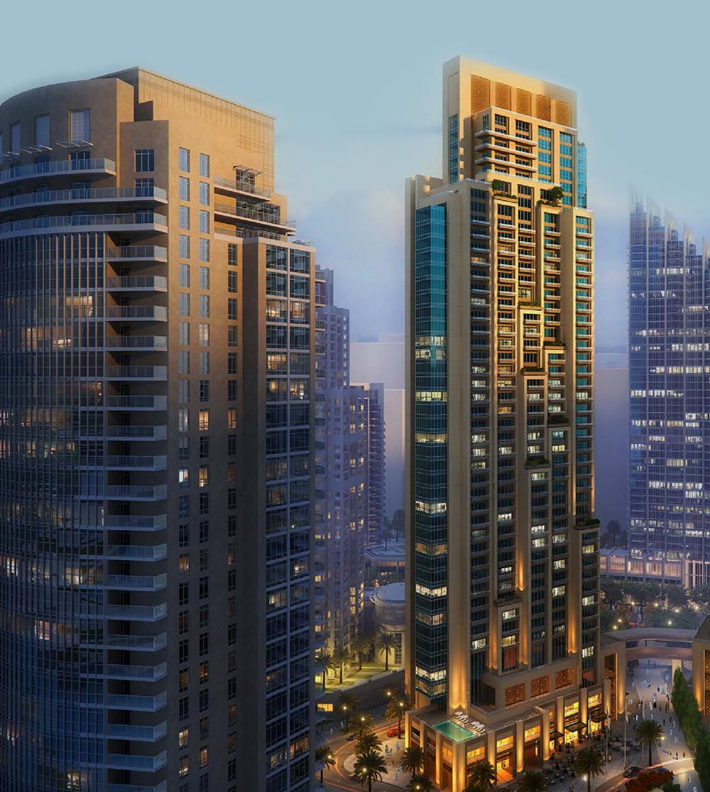 Emaar Act One | Act Two Apartments in Downtown Dubai