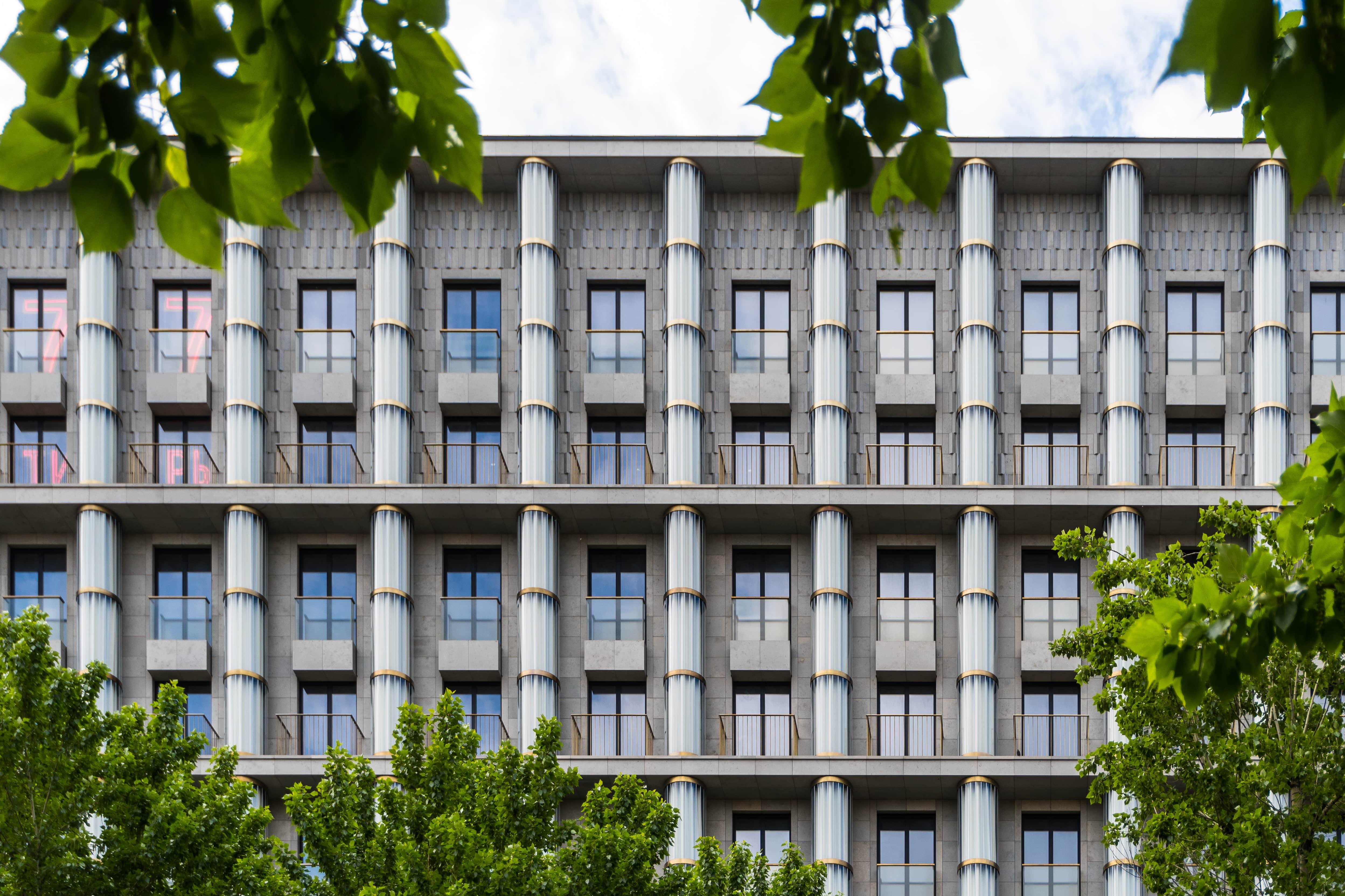 Кутузовский, 12 архитектура