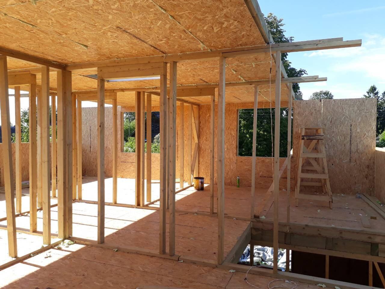 фото дома из сип панелей №4 зеленогорск
