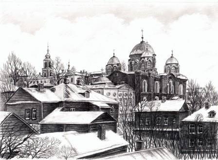 Казанский монастырь.