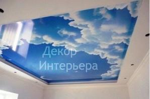 Картинка декоративные натяжные потолки приобрести по низкой цене