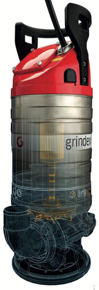 Фото погружной  насос промышленный шламовый Grindex