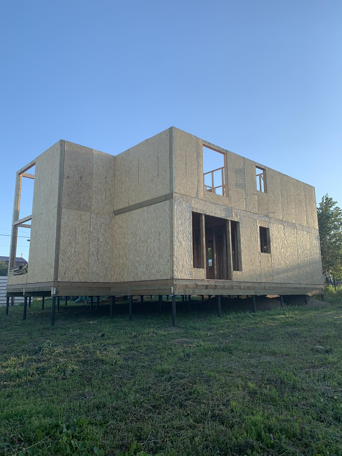 фото дома из сип панелей №6 курск