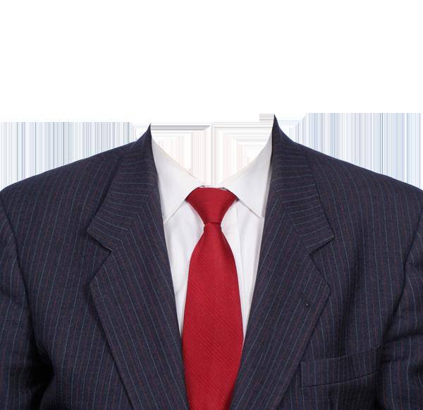 красный галстук фотография на документы