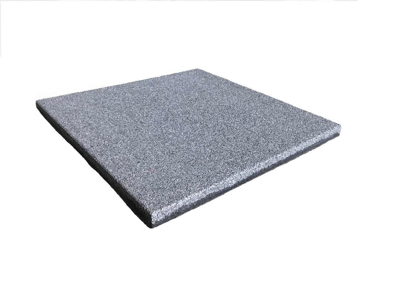Резиновая плитка 500x500x25
