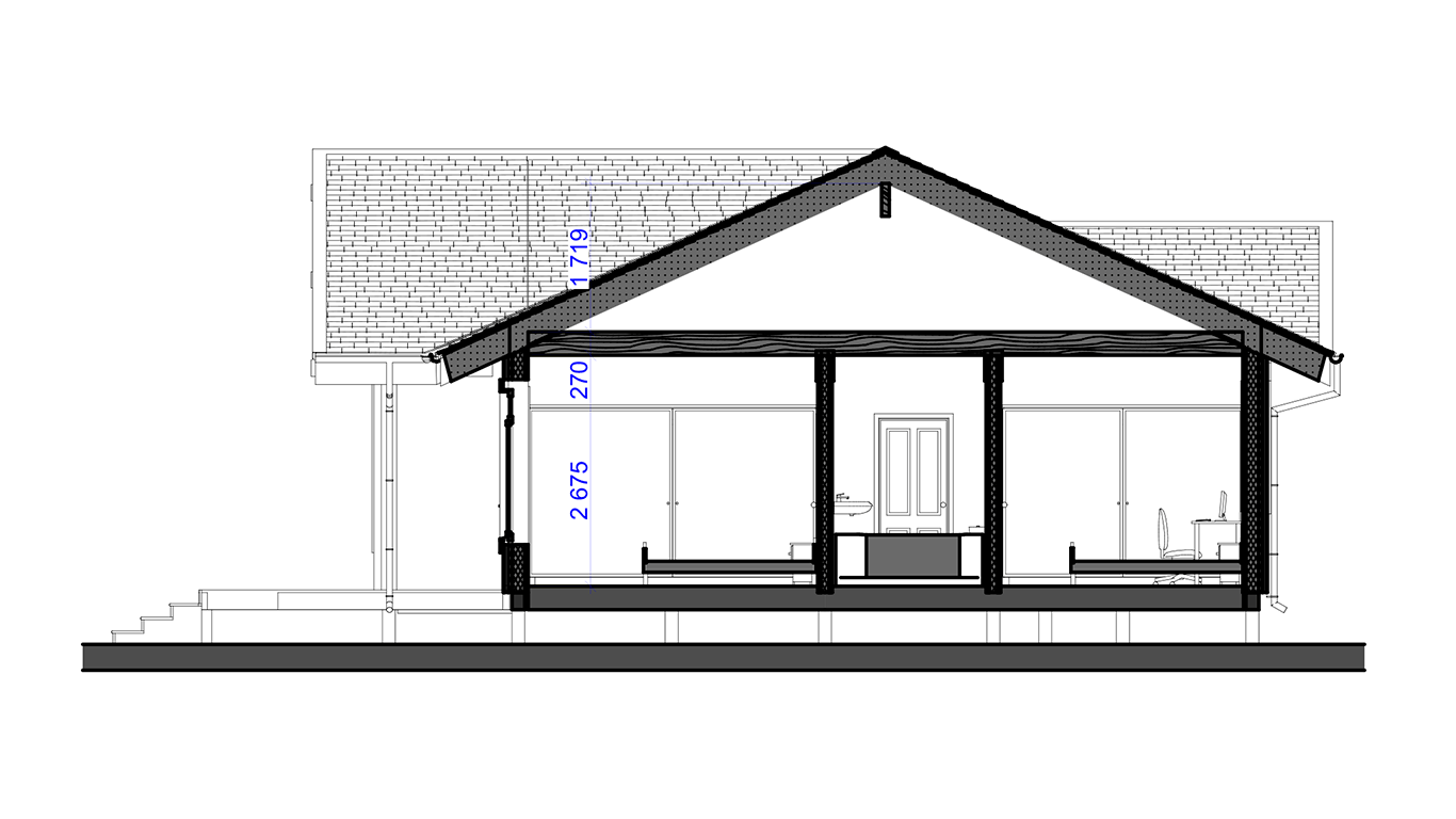 План второго этажа Oldenburg Rahmenhaus (Каркасный дом Ольденбург)