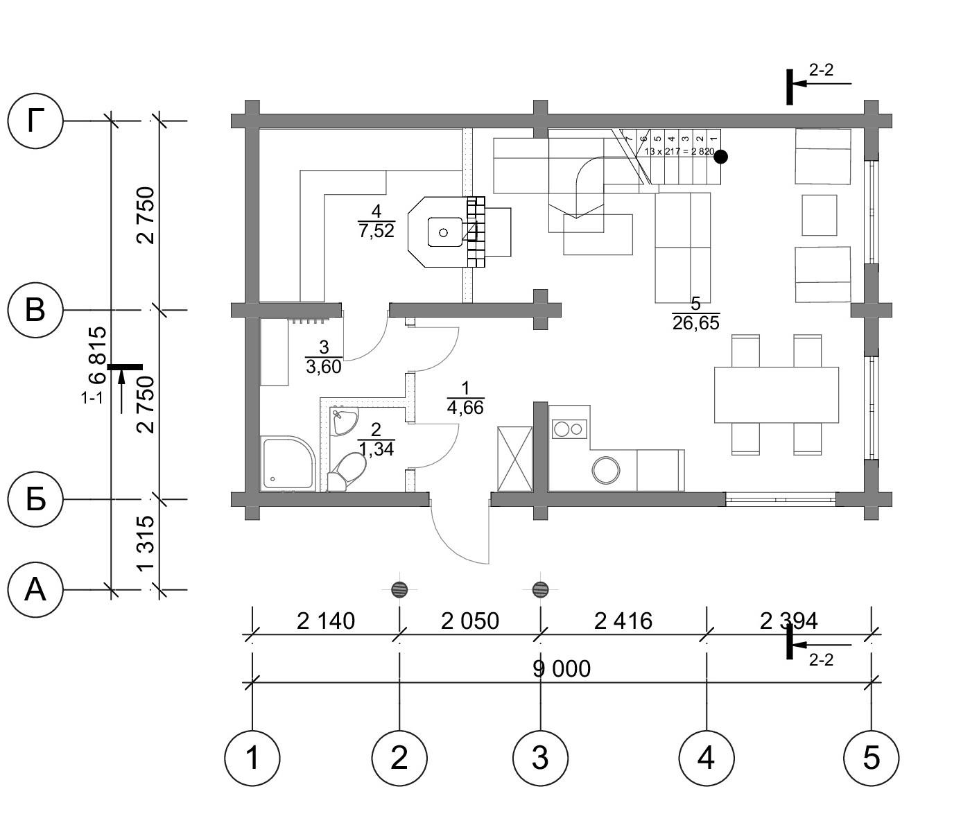 План первого этажа Ingolstadt BAN(Баня Ингольштадт)