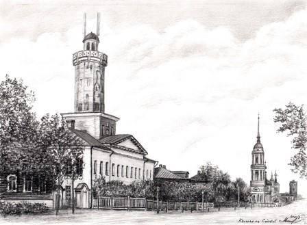 Каланча на Садовой