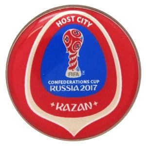 Заливной значок Кубок конфедерации 2017