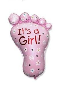 ножка на выписку девочки