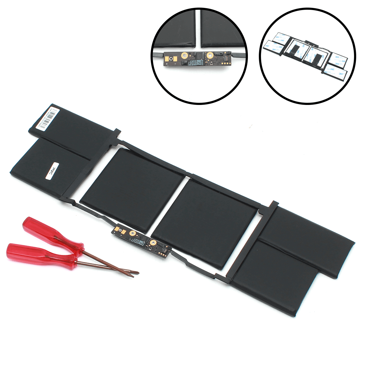 батарея для macbook pro 15 2018 a1953, батарея для a1990