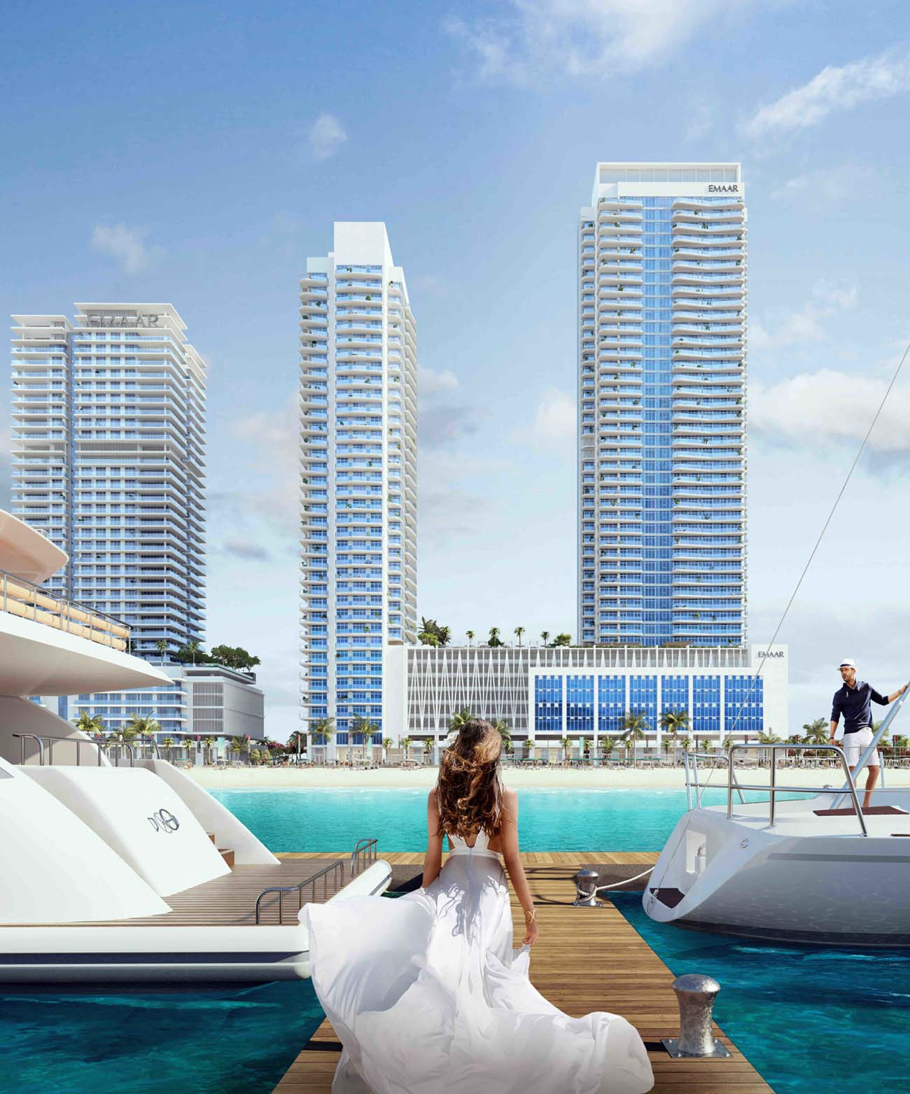 Emaar Beachfront South Beach Apartments for Sale in Dubai