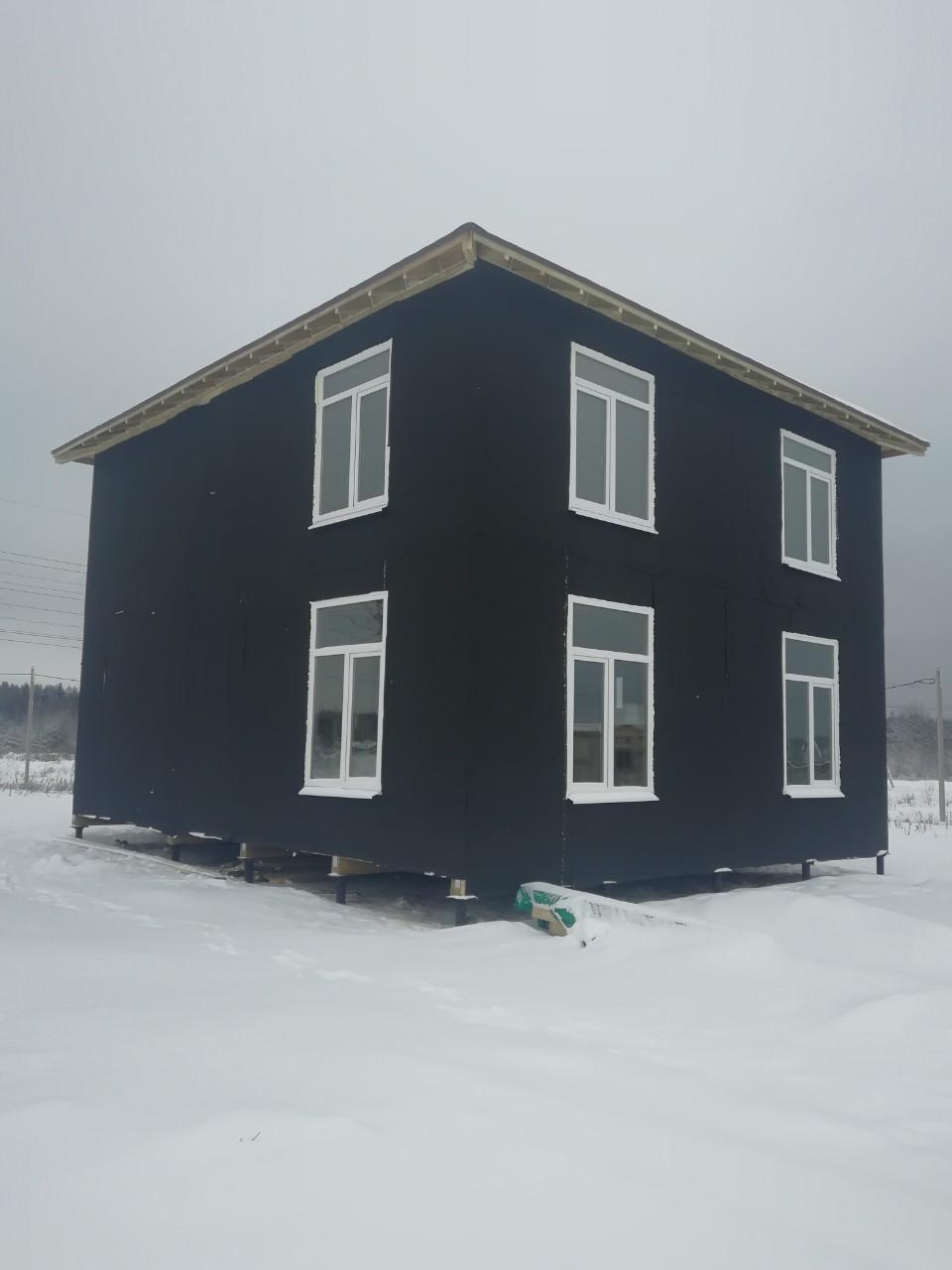 фото дома из сип панелей №4 прилесный