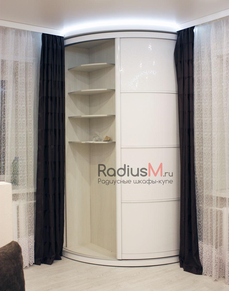 Радиусный шкаф-купе 1100х1000х2550