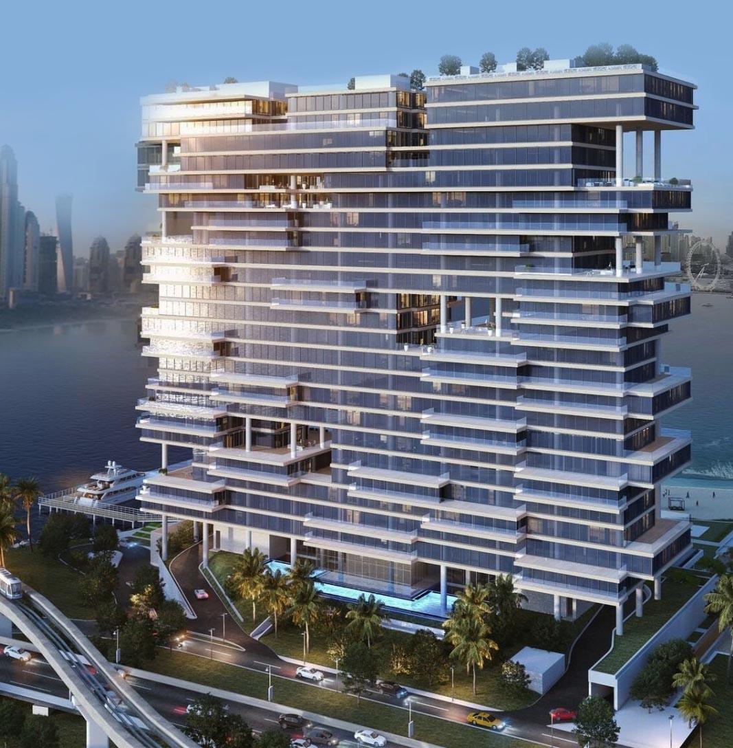 Omniyat One Palm Penthouses for Sale on Palm Jumeirah Dubai