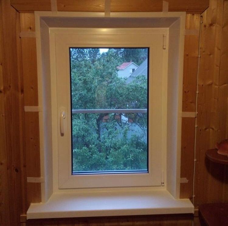 окно на даче под ключ