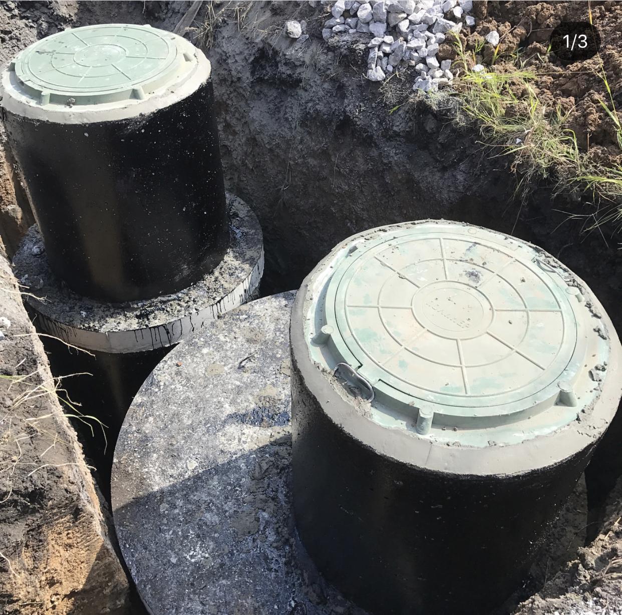Автономная канализация с септиком 16 кубов