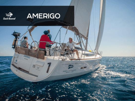 Парусная яхта Amerigo