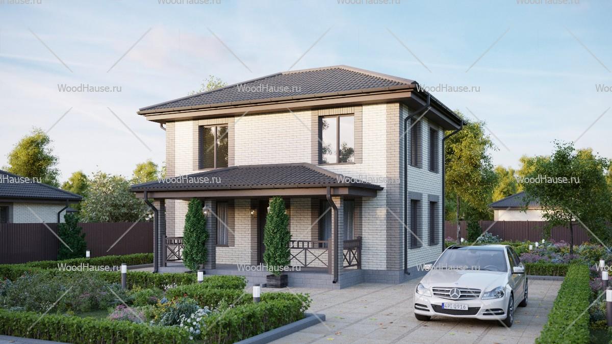 Пример дома из сип панелей