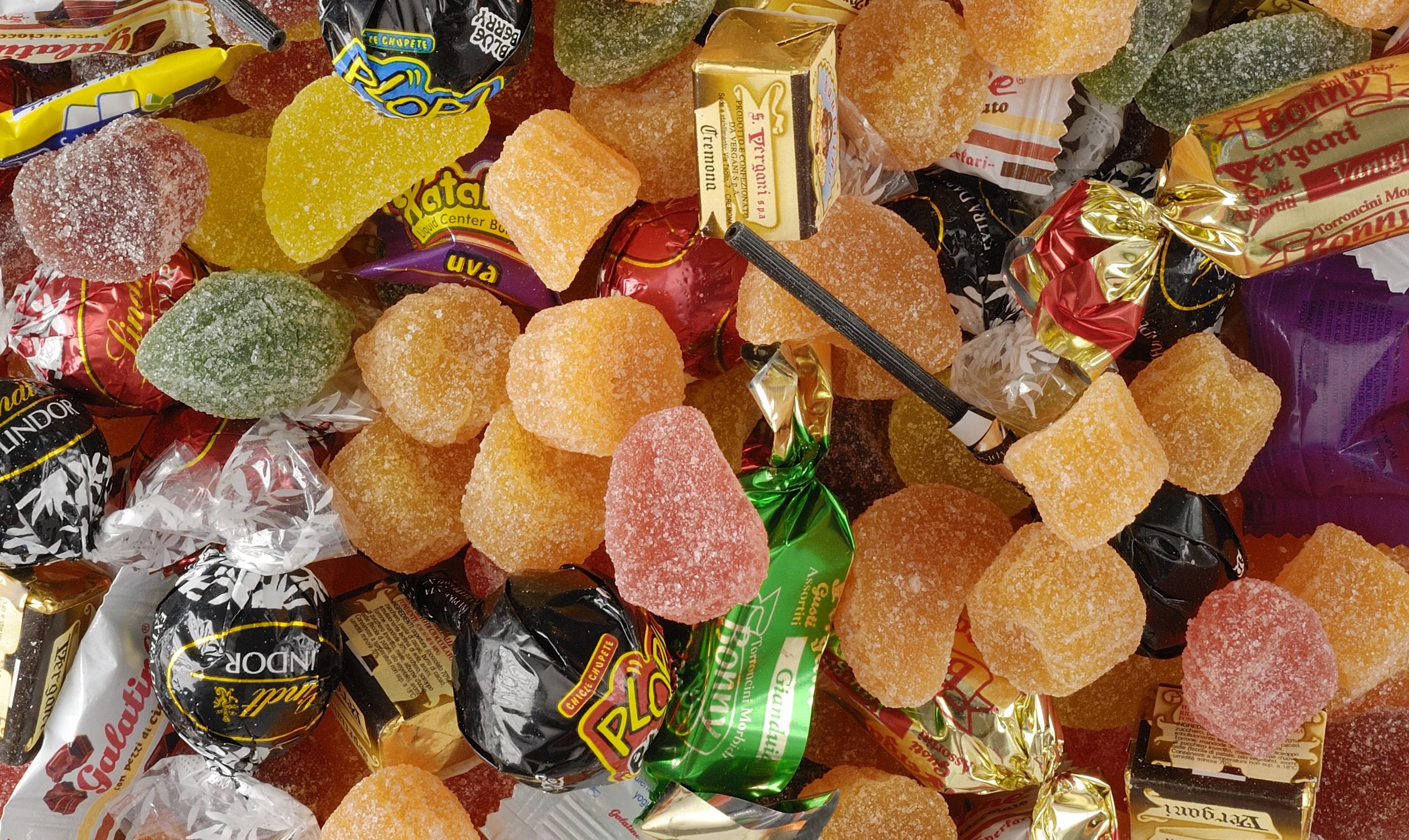машина для упаковки конфет