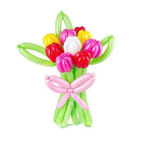 Тюльпаны  из шаров