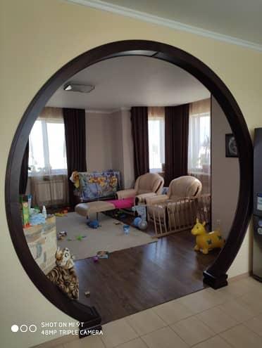 Межкомнатная арка в виде круга