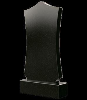 Гранитный памятник фигурной формы с острыми углами