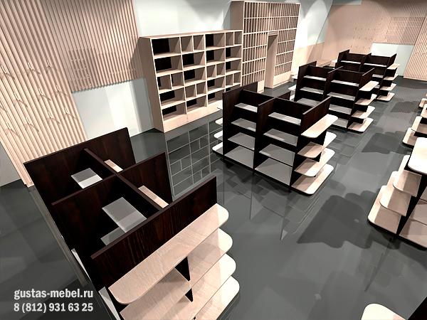 дизайн-проект магазина вина