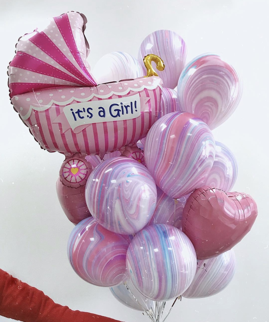 Сет из шаров для девочки