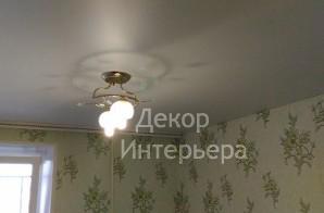 Картинка сатинового натяжного потолка в Вашем городе по низкой цене от 199 руб м2