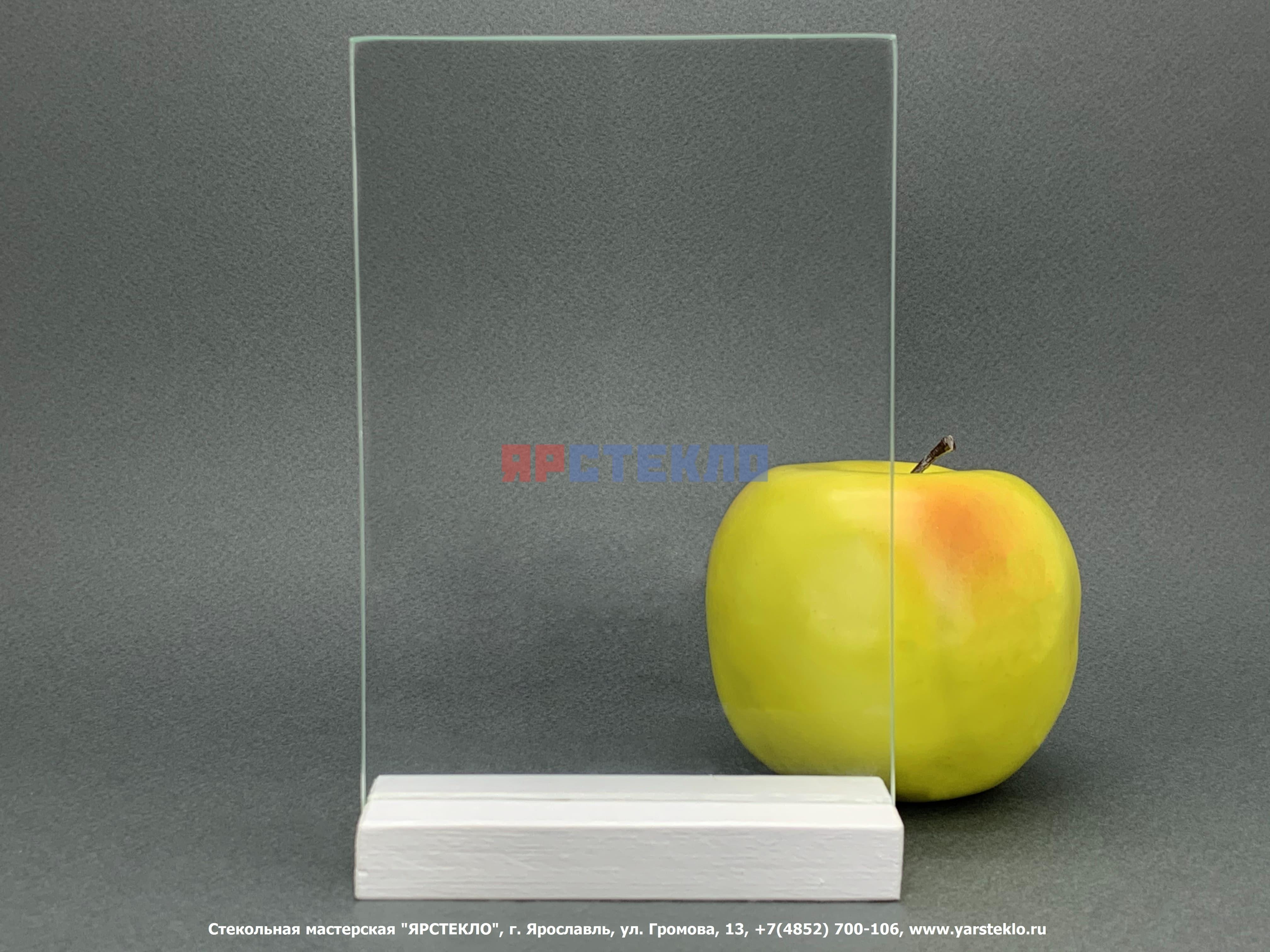 Стекло прозрачное листовое М1, бесцветное